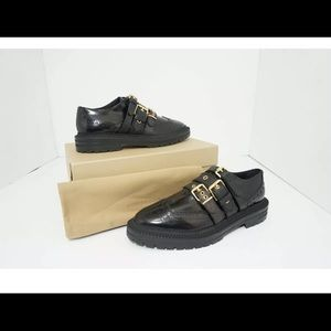 Burberry Doherty black  loafers  Size 10.5 M